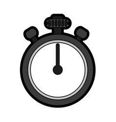 Chronometer flat vector