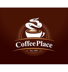 Coffee Place Logo vector image