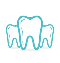 Dental or tooth logo Tooth icon vector