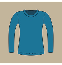 Long Sleeves Shirt vector