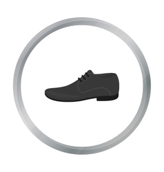 Men Shoes icon of for web and vector