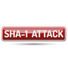 Sha-1 shattered collision attack vector