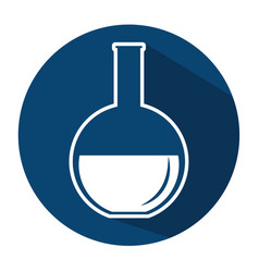 tube test laboratory icon vector image