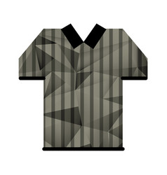 referee jersey stripes american football abstract vector image