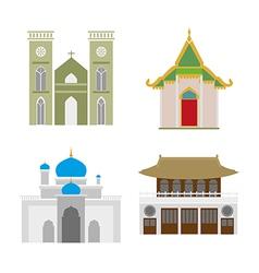 church vector image vector image