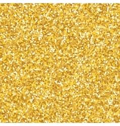Golden glitter texture vector image vector image