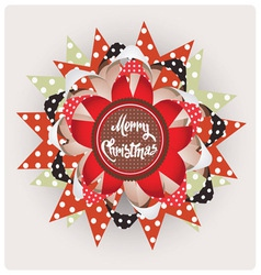 Christmas edition design element vector image