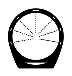 circular loop shower vector image
