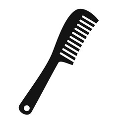 Comb icon simple style vector