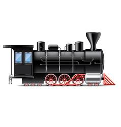 Locomotive isolated vector
