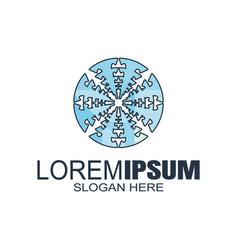 modern abstract logosbusiness or financial logo vector image