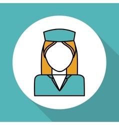 Nurse icon design vector