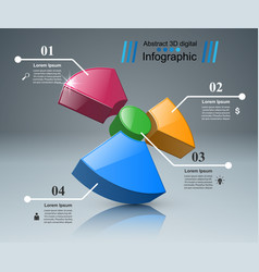 Radiation business infographics vector