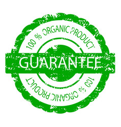rubber stamp guarantee texture vector image