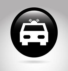 car button design vector image vector image