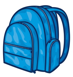 bag pack - backpack vector image vector image