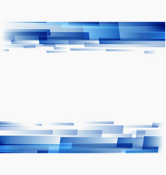 abstract background blue rectangles vector image