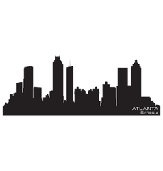 atlanta georgia skyline royalty free vector image rh vectorstock com skyline victory floor plan skyline victory floor plan