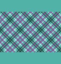 Blue tartan plaid seamless pattern vector