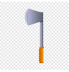 hiking axe icon cartoon style vector image