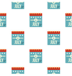 independence day pattern seamless vector image
