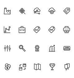 Productivity and Development Icons 5 vector image
