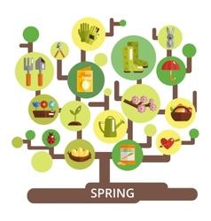 Spring Season Concept vector