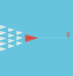 team leader concept business motivation vector image
