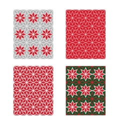 Trendy Scandinavian Seamless Pattern Set vector