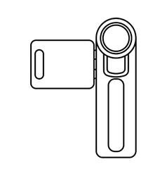 video camera film handy icon vector image
