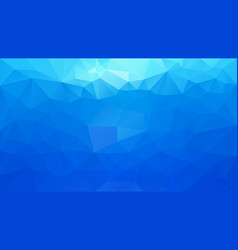 abstract irregular polygonal background sky blue vector image