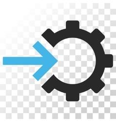 Cog Integration Icon vector image