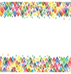 Colorful background geometric pattern design vector
