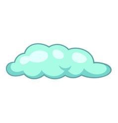 freezing rain cloud icon cartoon style vector image