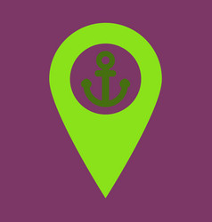 Geolocation bar sign map gps navigator mobile vector