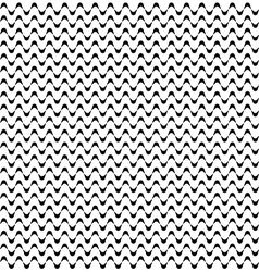 Seamless Minimalistic Wave Pattern vector image