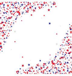 stars for usa holidays vector image