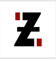 Z izi zi initials letter company logo and icon vector