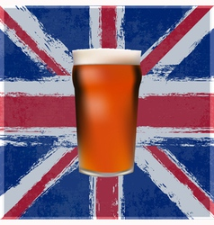 British Pint vector image