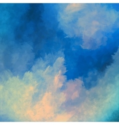 Dramatic Sky Painting Background vector image vector image