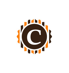 Best quality letter c vector