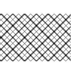 Flower of scotland tartan black white pixel vector
