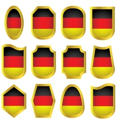Germany signs set vector image