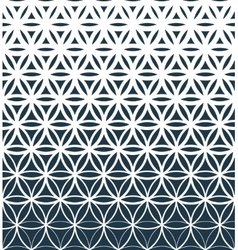 Gradient geometric seamless pattern vector image