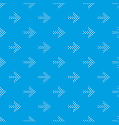 small dots right arrow pattern seamless vector image