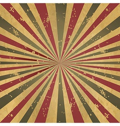 Vintage Burst Background vector image