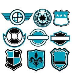 badge symbol vector image