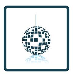 Party disco sphere icon vector image