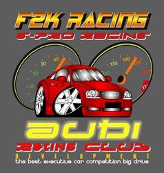 Audi racing club vector