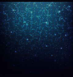 background abstract blue mosaic vector image
